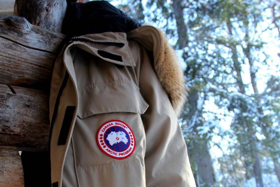 "The popular Canada Goose jackets use real coyote fur trim on their hoods as well as goose down to insulate their jackets. ""I think the use of animal products in any kind of clothing is cruel,"" said MacKenzie Whalen, an animal lover."