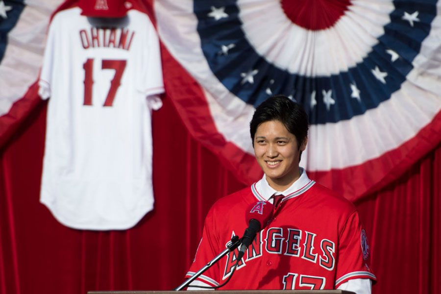 Ohtani will be under the eyes of the entire baseball world the first time he steps onto the field...whether it's on the mound or at the plate.
