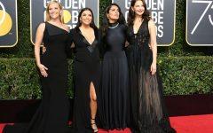 Dressing in black at Golden Globes