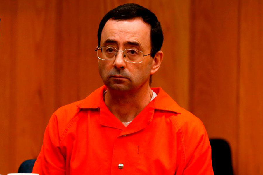 "Larry Nassar attends several weeks of court for sexual assault of many women. In the end, he was sentenced to life in prison. ""I think [Nassar] should be locked away for a long time. He should never be let out of prison,"" said Mary Martin '20."