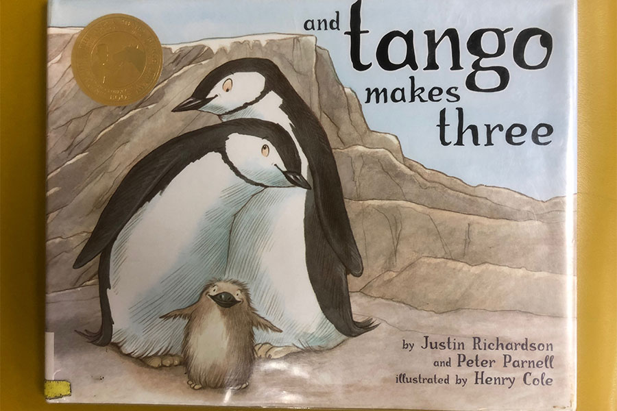 "And Tango Makes Three by Justin Richardson and Peter Parnell was one of 2017's most challenged books, according to the American Library Association. The children's book brought about a significant amount of controversy surrounding LGBTQ issues for several years running since its publication in 2005. ""It is important to read things that shake you up. If you are not disturbed by things, you won't be motivated to learn about them otherwise,"" said Bettie Lou Hill."