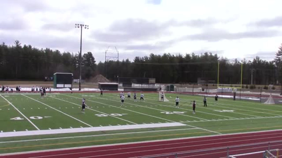 "Souhegan High School, just a few miles away from HBHS, has had their turf field for years. Mark Labak '19 states he's ""been jealous of Souhegan's stadium for a long time, it's always a pleasure to play on their field or any turf field for that matter."""