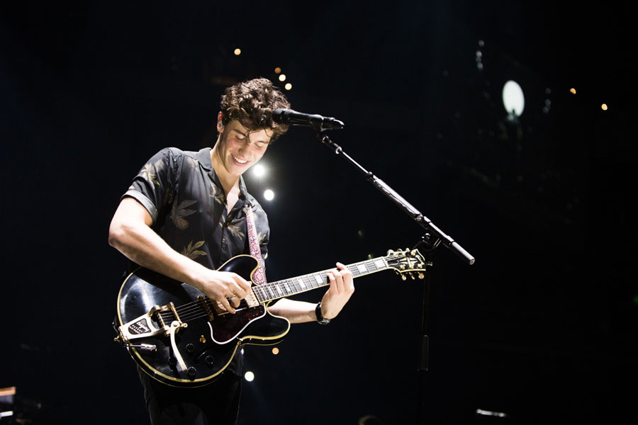 "Shawn Mendes is happily performing live in concert and is passionately doing what he loves. Mendes has always given his best effort and I have never heard a complaint about one of his performances. I think when you have raw emotion in a song, it makes it great,"" said Mendes."