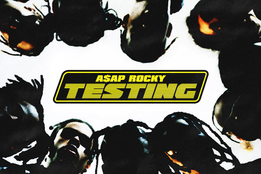 "Above is the cover art for TESTING. A$AP Rocky has published three studio albums. ""I knew it was going to be good the second I saw the album cover,"" said Elise Bender '19."