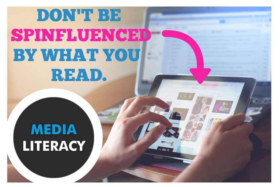 "The Canva Poster, created by Christine Heaton, advertises the idea of media literacy. Media literacy, or the ability to discern the quality, bias, and authenticity of sources consumers view, create, and share, is becoming even more relevant as access to the internet and social media increases. ""The biases become like super viruses. You can try to stop it, but it's going to find a way around it,"" said Heaton."