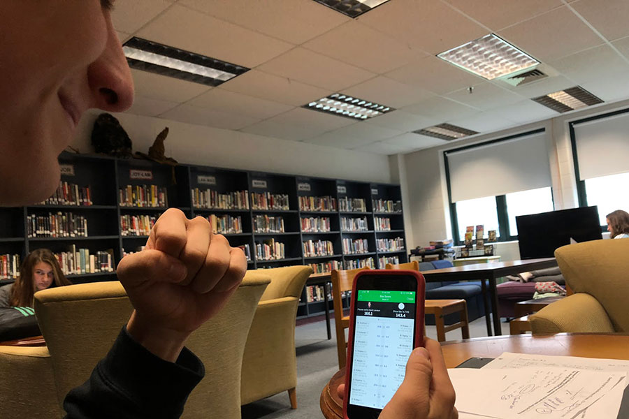 "Simpson checks out the state of his team and if the chance of beating his opponent is possible on the iPhone app.  The rise of fantasy football has given fans a reason to pay attention to games going on all around the country, and not just focus on their local team. ""I check the app around 30 times a day,"" said Simpson."
