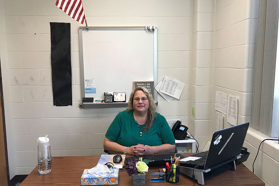 """Dr. Dawn Breault is in charge of the ELO program at HBHS. She started the program last year, and has been working with career counseling for almost 15 years. """"The purpose is to bring the world of work to life,"""" she said."""