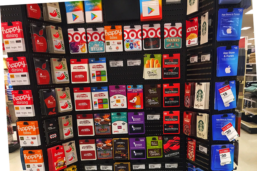 Gift cards are increasingly popular among US consumers, as demonstrated by this large selection. Unfortunately, gift cards can be an inefficient vehicle for an exchange of value.