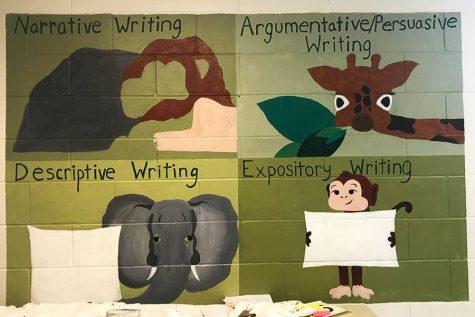 Interior Design students decorate HBHS classrooms