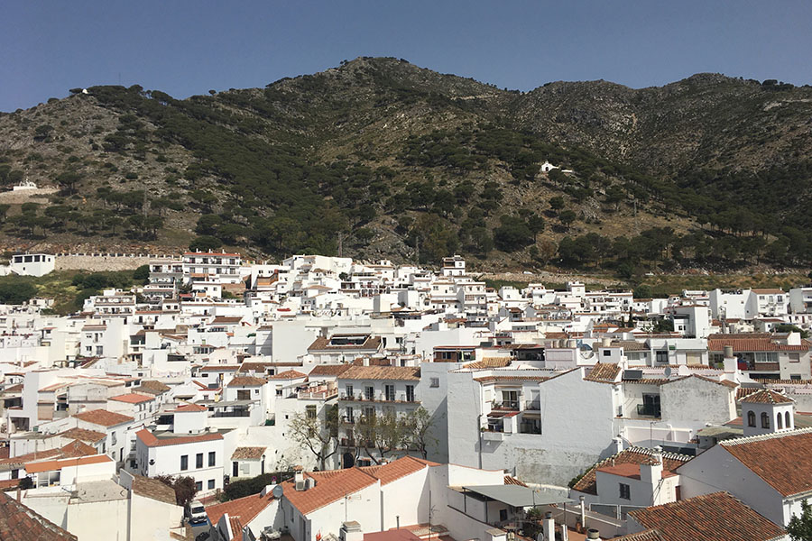 "This photo of Mijas, Malaga, Spain was taken in April of 2017, which was the last Spanish trip.  Students going on the Spain 2020 trip will be able to see beautiful sceneries like this one. ""They are going to see two of the most beloved European cities"", explained Señor Basbas."