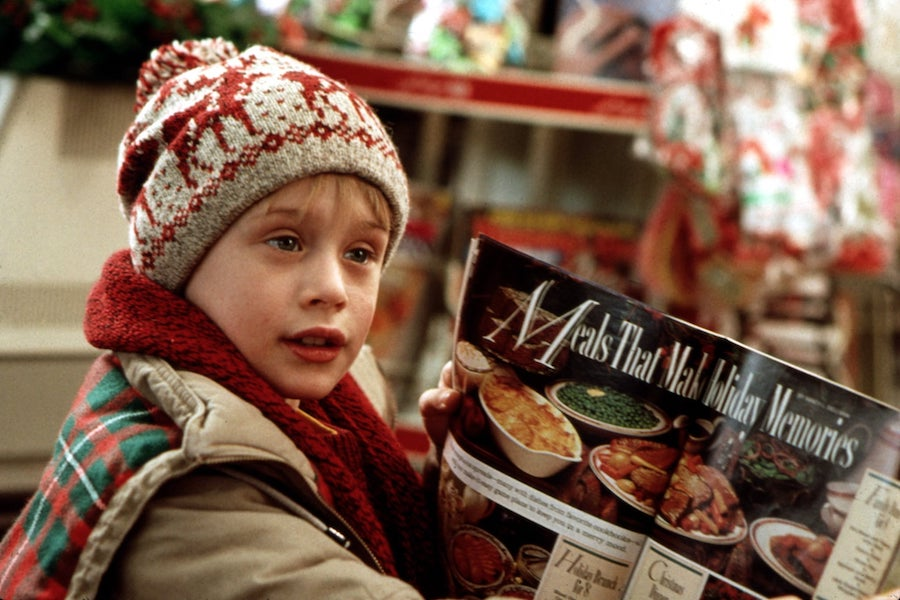 Home Alone's mischievous Kevin McCallister plans his defense against the creepy robbers who've come to steal his Christmas spirit.