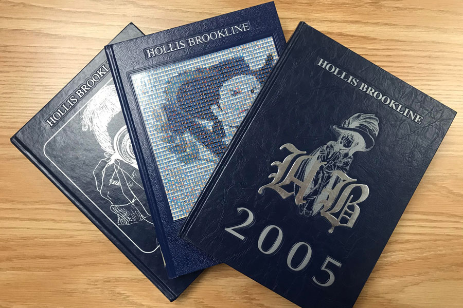 "Hollis Brookline's yearbooks are a traditional part of the conclusion to their seniors' final year. Mrs. Illingsworth has expressed her struggles on encapsulating the year into one book. ""You go to print before the year is complete and you only get part of the story,"" said Lin Illingworth, English teacher."