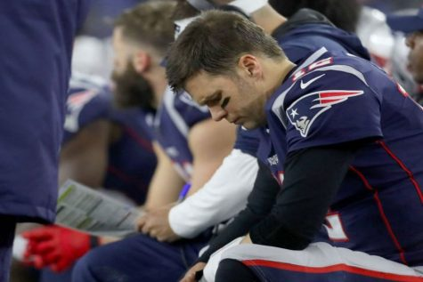 "Tom Brady sits defeated towards the end of the game. With only minutes remaining he questions what his next move should be. Alongside Brady thinking about his next move fans were quick to wonder if Brady would be back next season."" I also did a lot of thinking of the Patriots will do when Brady retires."" said Jonah Sacks."