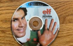 "Here is the DVD disc of Elf. The movie that came out in 2003 is still a timeless classic and the perfect addition to anyone's Christmas movie list. Just like Buddy the Elf says, the movie does ""Spread Christmas cheer by singing loud for all to hear""."