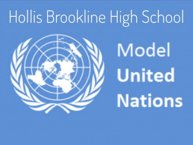 "MUN is open to all students who are interested in debate and learning about different countries around the world in a political and economical setting. Josh Hill, Hollis Brookline senior, plans on participating in Model United Nations in college. ""I did overall enjoy the experience because there was a lot of debating and good discussion,"" said Hill. For more information about MUN, click here."