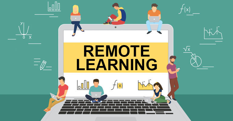 "Remote learning has been different for everyone this year and we have all experienced some type of remote learning. Hollis Brookline students still have the choice to choose to be in person or remote. ""I don't enjoy long periods of remote learning but sometimes it is a good break,"" said Samantha Messina '21."