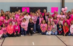 """At the last chemo package event, they assembled about 1,300 chemo-care packages. Pink Revolution's next event is on Nov 13, and completely volunteer run. """"The Chemo Care bags and gift cards are making sure that people are getting to their appointments and are comfortable and though of while they are there"""" said Cormier."""